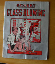 Vintage AC Gilbert Glass Blowing Booklet M512-C