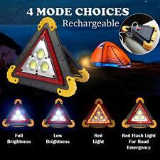 Hilka 3 W COB peligro de emergencia luz de advertencia 140 LM Triángulo Rojo 82000200