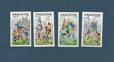 Cote d' Ivoire  coupe du monde de football   de 1989  num: PA 121/24  **