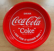 Plateau Métal Publicitaire Coca Cola Drink Bistrot Bar Collection