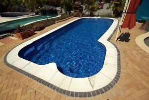FRANKS POOLS / DIY POOLS AUSTRALIA - Fibreglass Pools 9.4 x 4.3 mtrs Islander