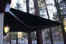 20'w x10'd Outdoor Patio Cover Yard Awning Retractable Sun Shade Shelter STRONG