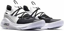 """Curry 6 """"Working On Excellence"""" Under Armour Basketball Shoes Boys Sz 6 Y"""