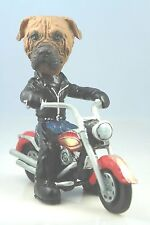 Bull Mastiff Dog On A Motorcycle(See All Breeds Bodies @ Ebay Store