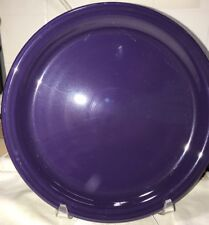 "Fiesta Ware BUFFET PLATE - 9"" - First Quality - Never Used - PLUM"