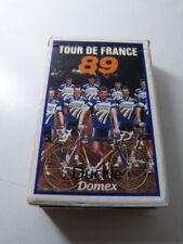 jeu carte, tour de france 1989, DOMEX , DUCALE (cp10)