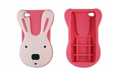 Nouvelle  Coque silicone lapin  pour iPhone 4 / 4S ou iPhone 5 / 5S