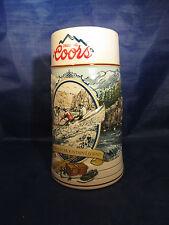 Coors Rocky Mountain Legend 1992 Beer Stein/Mug