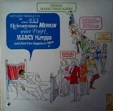 CAN HEIRONYMUS MERKIN EVER FORGET MERCY HUMPPE... - KAPP LABEL - LP SOUNDTRACK