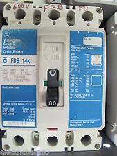 Westinghouse FDB3080, 80 Amp, 3 POLE, 600 VOLT Circuit Breaker, WARRANTY