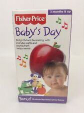 Baby's Day (VHS, 2004) Fisher-Price 3 mo+ Sights & Sounds Factory Sealed!