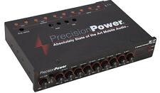 PRECISION POWER PPI E.7 1/2-DIN 7-BAND PARAMETRIC EQUALIZER EQ w/ LED DISPLAY E7
