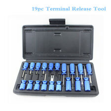 19-Piece Universal Terminal Release Kit Electrical Terminal Removal Tools