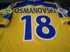 Maglia Svezia #18 Osmanovski Sweden EURO 2000 shirt trikot maillot issue