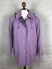 NEW Ewm Isle coat Size 20 UK Violet RRP £60 Coat Jacket