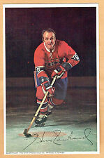 1969-71 Canadiens (Pro Star Promotions) Team Issued Postcard, Henri Richard