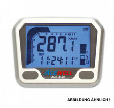 Acewell,Multifunktionelles Digitalinstrument, carbon, Tacho-Drehzahlmesser-Uhr-T
