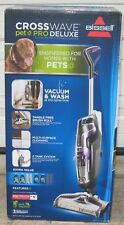 BISSELL CROSSWAVE PET PRO DELUXE MULTI-SURFACE CLEANER ( 2305K ) , NEW IN BOX