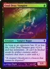 Guul Draz Vampire FOIL Zendikar HEAVILY PLD Black Common MAGIC MTG CARD ABUGames