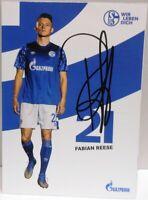 Fabian Reese + Autogrammkarte 2019/2020 + FC Schalke 04 + AK2019126 +