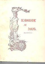 Ambroise LEDRU, le Grabatoire du Mans, Lib. Bienaimé 1907, 1 volume broché in-4