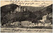COBLENZ Koblenz 1917 Blick auf Rhein sowie Ehrenbreitstein Burg und Häuser