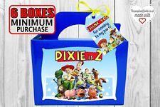Caja De Fiesta De Toy Story. favor, Goodie, rellenos, dulces, Bolsa De Regalo Elección De Colores.