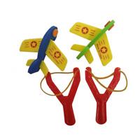 6x Abschiessflieger Styroporflieger m Flitsche 8cm Katapultflieger Gleitflieger