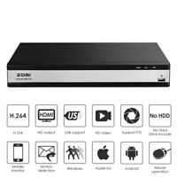 ZOSI 16CH DVR 1080P HDMI 4-in-1 Hybrid DVR Recorder for home Security System Kit