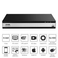 ZOSI 16CH 720P 4in1 TVI Recorder Netzwerk Digital Video Receiver für CCTV Kamera