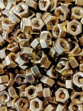 5/16-18 Brass Hex Nut 100 Each