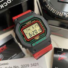 Casio G-Shock * DW5600THC-1 Limited Edition Digital Square Nylon Strap Watch
