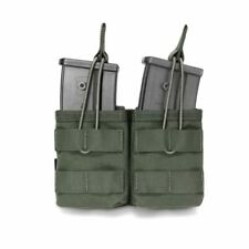 Warrior Assault Systems Double MOLLE Open G36 Mag Pouch - OD Green