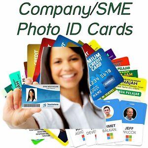 Plastic Card Printing |  Personalised Custom Photo ID | Membership Cards |