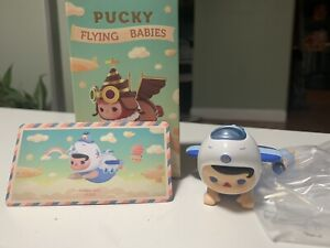 POP MART Pucky Flying Babies Toy Blind Box [Airplane Baby]