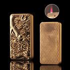Gold Cigar Butane Gas Refillable Lighter Jet Flame Cigarette Lighter