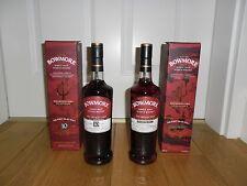 Bowmore - The Devils Casks I und III , 56,9% u 56,7%, 2x0,7l, Single Malt Whisky