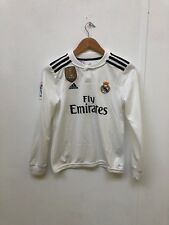 adidas Kids Real Madrid 18/19 Home Shirt - 11-12 Years - Ronaldo 7 - White -New