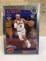 RJ Barrett Rookie Card! 2019-2020 Nba Hoops Tribute! New York Knicks!