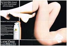 Publicité Advertising 1988 (2 pages) Cosmétique Crème Lancome