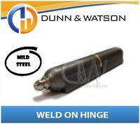 150mm Weld On Bullet Hinge - Mild Steel (Grease Nipple) - Brass Washer (Trailer)