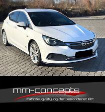 CUP Spoilerlippe SCHWARZ für Opel Astra K OPC Line Frontspoiler Spoilerschwert