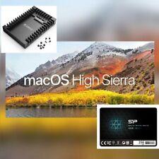 SSD Silicon Power 256 Gb con Adattatore, pre-caricato Mac OS-High Sierra
