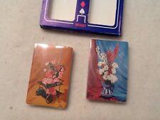 Vintage Playing Cards Sealed 2 Decks Sealed Arrco Co. Games USA Plastic Coated