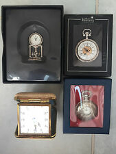 Collection of 2 clocks & 2 pocketwatches - Heritage Collection, Europa Deluxe