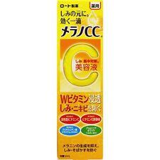 ROHTO MELANO CC Stain Remove Serum with Vitamins C, E 20mL Airmail From JAPAN