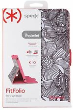 NEW Speck Apple iPad Mini 1 2 3 FitFolio Cover Case Stand Coral Pink SPK-A1523