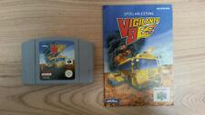 N64 vigilante 8 pal alemán con instrucciones manual Nintendo 64