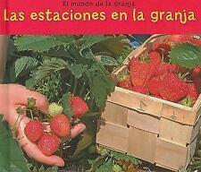 Las estaciones en la granja (El mundo de la granja) (Spanish Edition)-ExLibrary