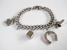 Aharm Bracelet with Pendant Real Silver